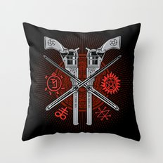 Perdition (Demon Hunter's Variant) Throw Pillow