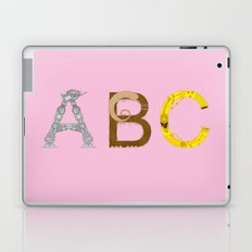 mAY BEE SEE be with you! (pink) Laptop & iPad Skin