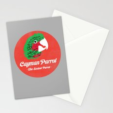 Cayman Parrot Stationery Cards