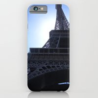 iPhone & iPod Case featuring The Eiffel Tower by Amy Taylor