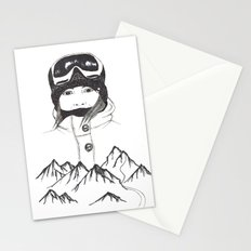 Mountain Girl Stationery Cards