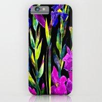 black iris iPhone 6 Slim Case