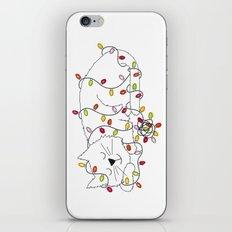 Christmas Nap iPhone & iPod Skin