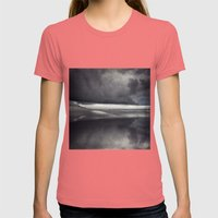 BeinG theRe Womens Fitted Tee Pomegranate SMALL