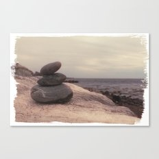 Rock Pile I Canvas Print