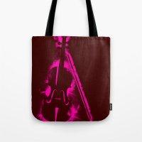 Painted Violin Tote Bag