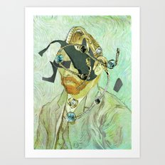 In Vincent´s Face · 3 Art Print