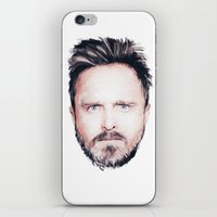 Aaron Paul Digital Portrait iPhone & iPod Skin