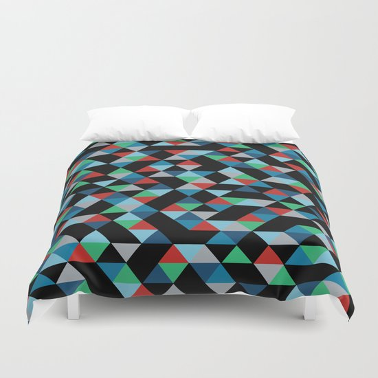 Triangles 4B Duvet Cover