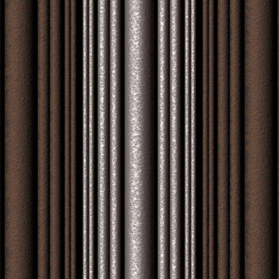 Hammered Metal/Rust Art Print
