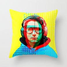 Gioconda Music Project �… Throw Pillow