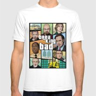 T-shirt featuring Breaking Bad GTA HD  by Akyanyme