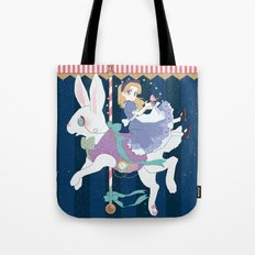 Carousel: World of My Own Tote Bag