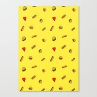 Fast Food Friday Canvas Print