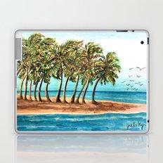 Private Island Painting Laptop & iPad Skin