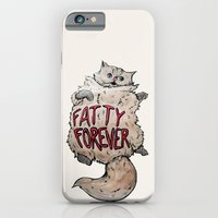 iPhone & iPod Case featuring Fatty Forever by Julia Emiliani