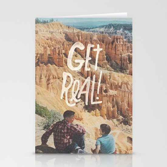 GET REAL! Stationery Card