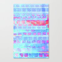Hot Squares! Canvas Print