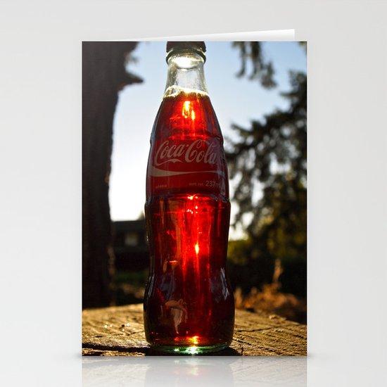 Coca-Cola mini Stationery Card