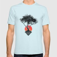 Precious Mens Fitted Tee Light Blue SMALL