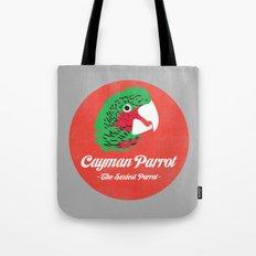 Cayman Parrot Tote Bag