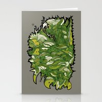 Green Machine. Stationery Cards