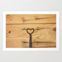 Love is All Around Us Art Print
