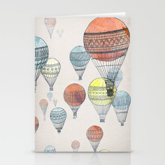 Voyages Stationery Card