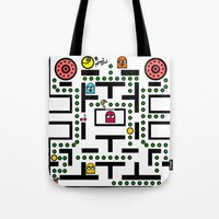 NeW PaCmAN Tote Bag