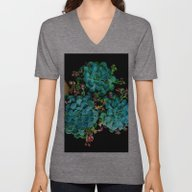 Unisex V-Neck featuring Beautiful Autumn Plant G… by Costa