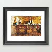 In Berlin Framed Art Print