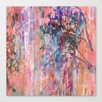 Hazy Willow Canvas Print