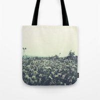 Sicily Flowers Tote Bag