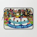"""Top 100 Greatest Songs of All Time"" by Steven Fiche Laptop Sleeve"