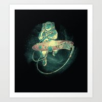 Scratch The Universe Art Print