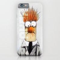 iPhone & iPod Case featuring Beaker  by Michael Scott Murphy