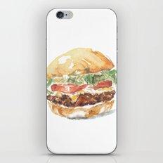 A burger iPhone & iPod Skin