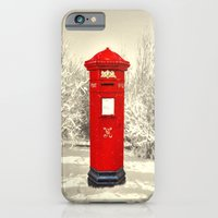 Xmas Post iPhone 6 Slim Case