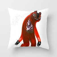 Get in Touch with your Roots Throw Pillow