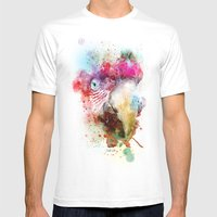 The Bird In My Dreams Mens Fitted Tee White SMALL