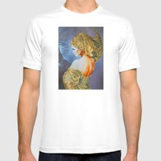Lady Moon SMALL Mens Fitted Tee White