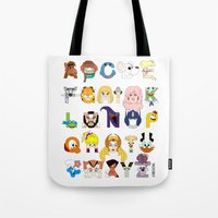 Child Of The 80s Alphabe… Tote Bag