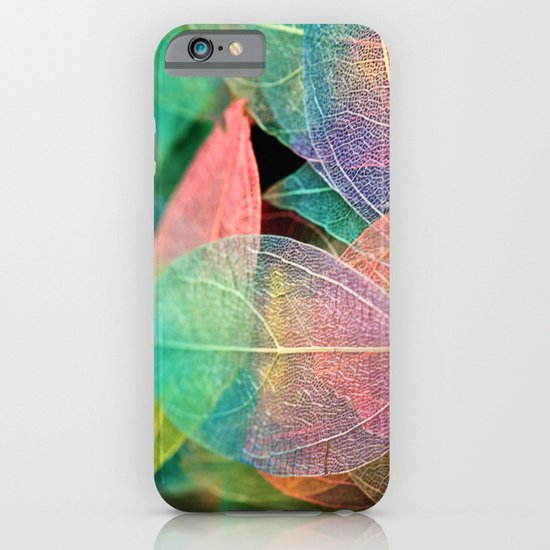 Skeleton Leaves iPhone & iPod Case