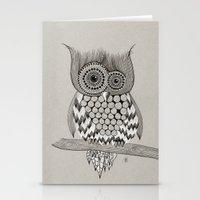 Rupert Owl Stationery Cards