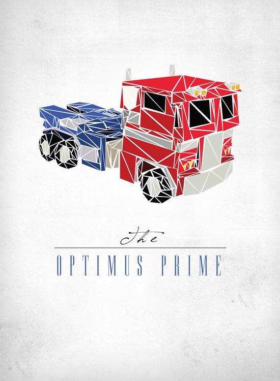 The Optimus Prime Canvas Print