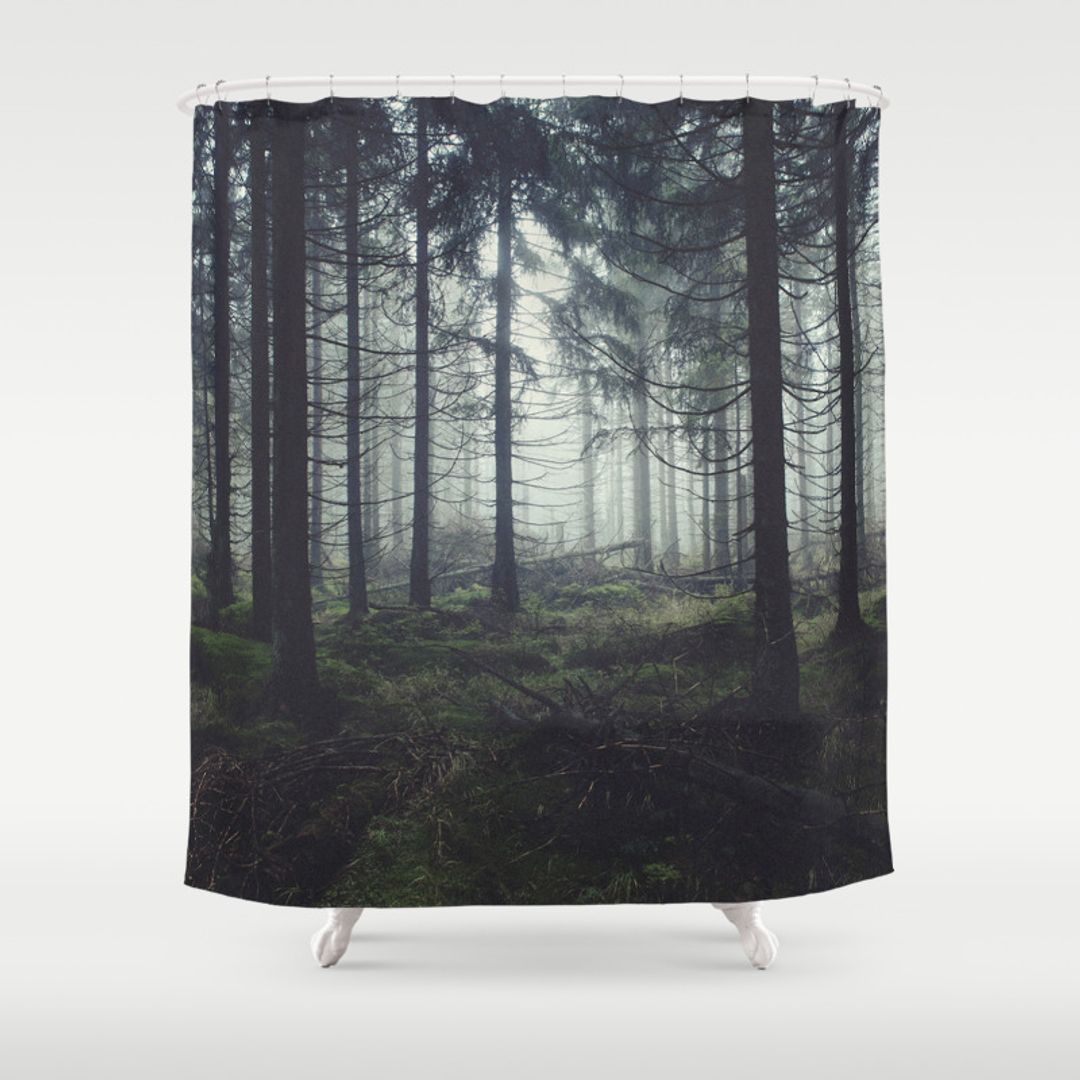 Landscape Shower Curtains Society6