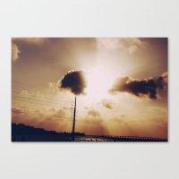 Sun Blast Canvas Print