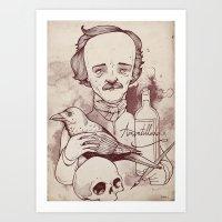 Poe Art Print