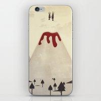 Fall With Me iPhone & iPod Skin