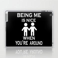 Being Me is Nice Laptop & iPad Skin